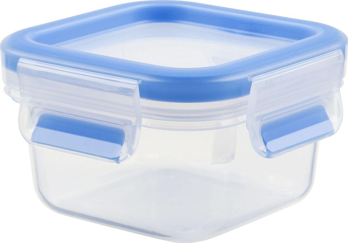 Контейнер пищевой Emsa Clip&Close, 0,25 л508535Контейнер Emsa Clip&Close изготовлен из высококачественного антибактериального пищевого пластика, имеющего сертификат BPA-free, который выдерживает температуру от -40°С до +110°С, не впитывает запахи и не изменяет цвет. Это абсолютно гигиеничный продукт, который подходит для хранения даже детского питания. 100% герметичность - идеально не только для хранения, но и для транспортировки пищи. Герметичность достигается за счет специальных силиконовых прослоек, которые позволяют использовать контейнер для хранения не только пищи, но и жидкости. В таком контейнере продукты долгое время сохраняют свою свежесть - до 4-х раз дольше по сравнению с обычными, в том числе и вакуумными контейнерами. 100% гигиеничность - уникальная технология применения медицинского силикона в уплотнителе крышки: никаких полостей - никаких микробов. Изделие снабжено крышкой, плотно закрывающейся на 4 защелки. 100% удобство - прозрачные стенки позволяют просматривать содержимое, удобная мерная...