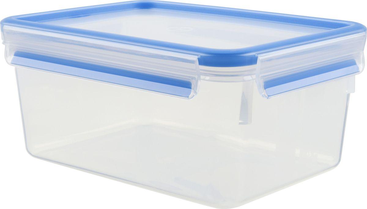 Контейнер пищевой Emsa Clip&Close, 2,3 л508544Контейнер Emsa Clip&Close изготовлен из высококачественного антибактериального пищевого пластика, имеющего сертификат BPA-free, который выдерживает температуру от -40°С до +110° С, не впитывает запахи и не изменяет цвет. Это абсолютно гигиеничный продукт, который подходит для хранения даже детского питания. 100% герметичность - идеально не только для хранения, но и для транспортировки пищи. Герметичность достигается за счет специальных силиконовых прослоек, которые позволяют использовать контейнер для хранения не только пищи, но и жидкости. В таком контейнере продукты долгое время сохраняют свою свежесть - до 4-х раз дольше по сравнению с обычными, в том числе и вакуумными контейнерами. 100% гигиеничность - уникальная технология применения медицинского силикона в уплотнителе крышки: никаких полостей - никаких микробов. Изделие снабжено крышкой, плотно закрывающейся на 4 защелки. 100% удобство - прозрачные стенки позволяют просматривать содержимое,...