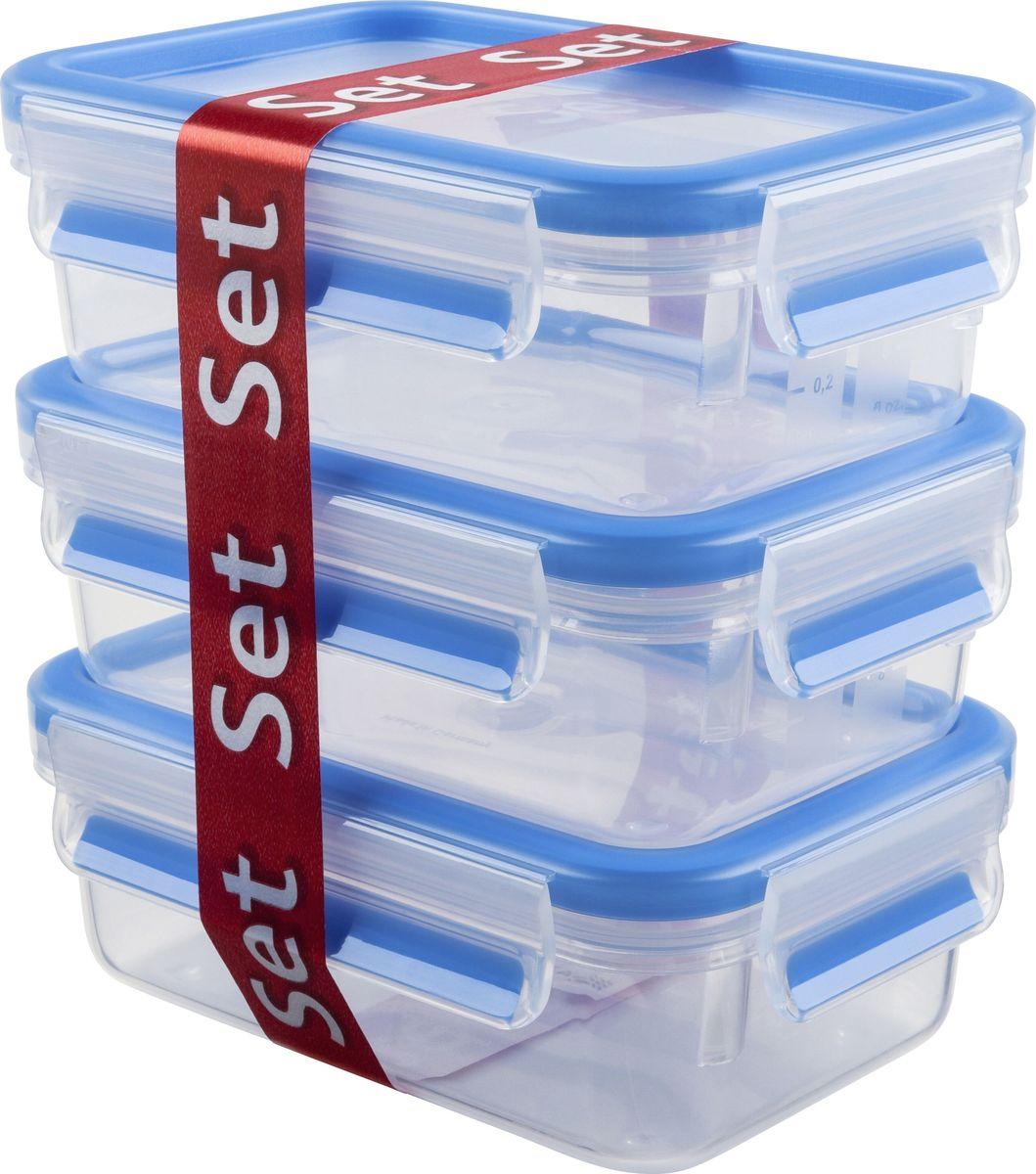 """Набор контейнеров Emsa """"Clip&Close"""", 0,55 л, 3 шт. 508570"""