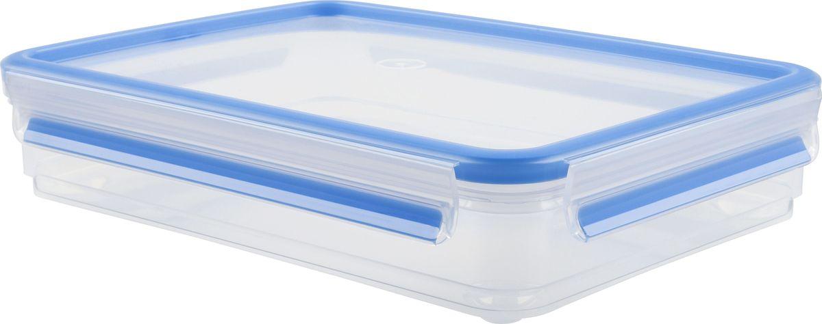 Контейнер для нарезки Emsa Clip&Close, 1,65 л509040Контейнер Emsa Clip&Close изготовлен из высококачественного антибактериального пищевого пластика, имеющего сертификат BPA-free, который выдерживает температуру от -40°С до +110°С, не впитывает запахи и не изменяет цвет. 100% герметичность - идеально не только для хранения, но и для транспортировки пищи. Герметичность достигается за счет специальных силиконовых прослоек, которые позволяют использовать контейнер для хранения не только пищи, но и жидкости. В таком контейнере продукты долгое время сохраняют свою свежесть - до 4-х раз дольше по сравнению с обычными, в том числе и вакуумными контейнерами. 100% гигиеничность - уникальная технология применения медицинского силикона в уплотнителе крышки: никаких полостей - никаких микробов. Изделие снабжено крышкой, плотно закрывающейся на 4 защелки. 100% удобство - прозрачные стенки позволяют просматривать содержимое, удобная мерная шкала на стенке чаши, сохранение пространства за счёт лёгкой установки контейнеров друг на...