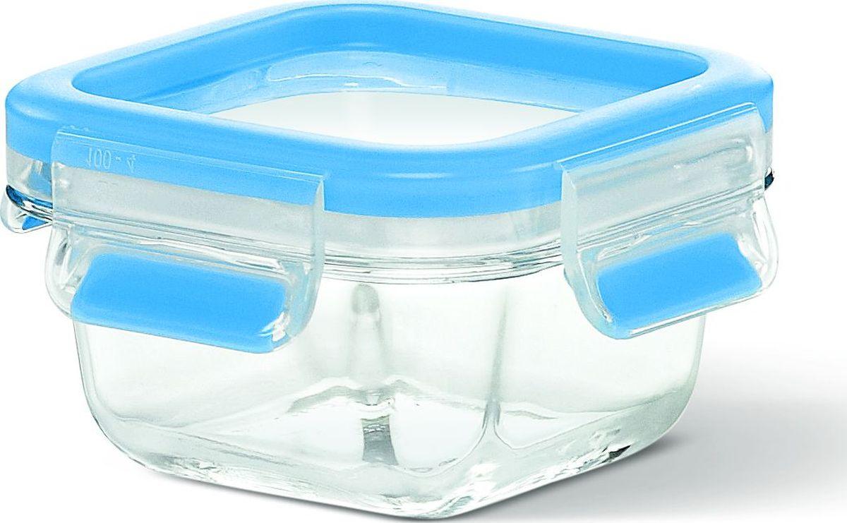 Контейнер пищевой Emsa Clip&Close Glass, 0,2 л513917Контейнер для хранения продуктов Emsa Clip&Close Glass изготовлен из закаленного и прозрачного стекла. Не впитывает запахи и не изменяет цвет. Это абсолютно гигиеничный продукт, который подходит для хранения даже детского питания. Материал чаши диамантовое боросиликатное стекло, сделанное в Европе, дает возможность использовать контейнер для приготовления пищи в духовке с температурой до 400°C. Крышка изготовлена из высококачественного антибактериального пищевого пластика, имеющего сертификат BPA-free. 100% герметичность - идеально не только для хранения, но и для транспортировки пищи. Герметичность достигается за счет специальных силиконовых уплотнителей в крышке, которые позволяют использовать контейнер для хранения не только пищи, но и жидкости. В таком контейнере продукты долгое время сохраняют свою свежесть - до 4-х раз дольше по сравнению с обычными, в том числе и вакуумными контейнерами. 100% гигиеничность - уникальная технология применения медицинского...