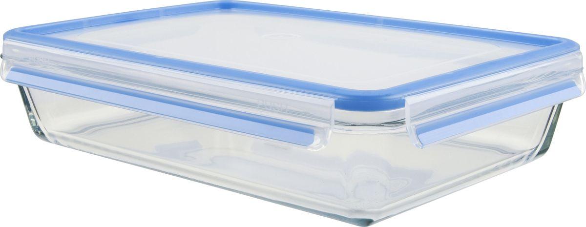 Контейнер пищевой Emsa Clip&Close Glass, 3 л. 513922513922Контейнер для хранения продуктов из закалённого и абсолютно прозрачного стекла, объём: 3.0 л, размеры: 34 x 23.5 x 7.6 см. Не впитывает запахи и не изменяет цвет. Это абсолютно гигиеничный продукт, который подходит для хранения даже детского питания. Материал чаши: диамантовое боросиликатное стекло, сделанное в Европе, возможность использовать контейнер для приготовления пищи в духовке с температурой до 400 ?C. Крышка изготовлена из высококачественного антибактериального пищевого пластика, имеющего сертификат BPA-free. - 100% герметичность – идеально не только для хранения, но и для транспортировки пищи. Герметичность достигается за счет специальных силиконовых уплотнителей в крышке, которые позволяют использовать контейнер для хранения не только пищи, но и жидкости. В таком контейнере продукты долгое время сохраняют свою свежесть –до 4-х раз дольше по сравнению с обычными, в том числе и вакуумными контейнерами. - 100% гигиеничность – уникальная технология применения медицинского...