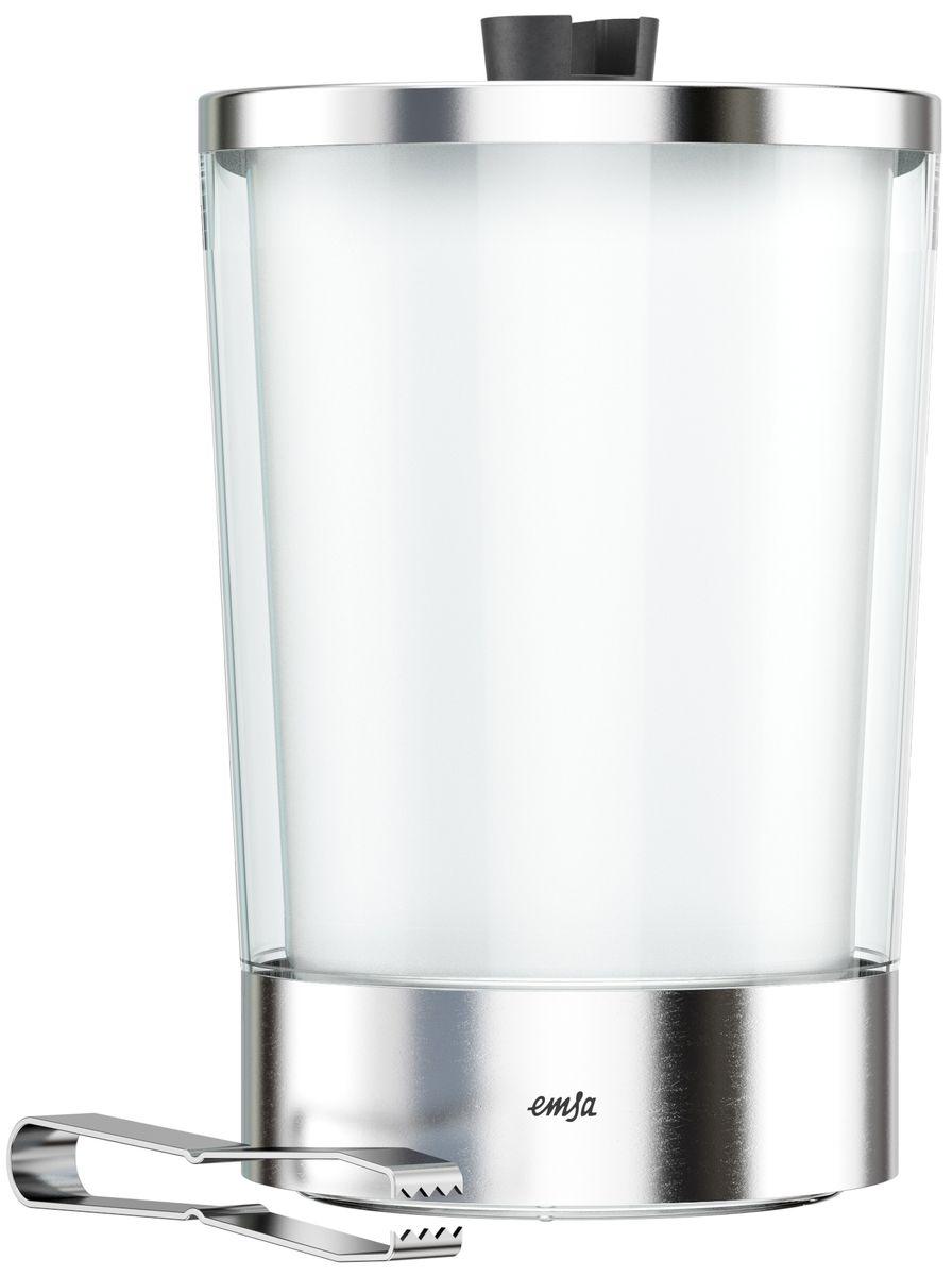 Ведерко для льда Emsa Flow Slim, с щипцами514235Ведерко для льда Emsa Flow Slim имеет достаточно большой объем, что позволяет подавать сразу большое количество льда. В комплект с ведерком для льда входят удобные щипцы из нержавеющей стали, предназначенные для подачи льда, его добавления в коктейли и другие напитки. Щипцы могут быть закреплены на крышке ведерка. Такое ведерко станет не только емкостью для хранения льда, но стильным украшением вашего праздничного стола. Размер ведерка: 14,5 х 23,5 см.