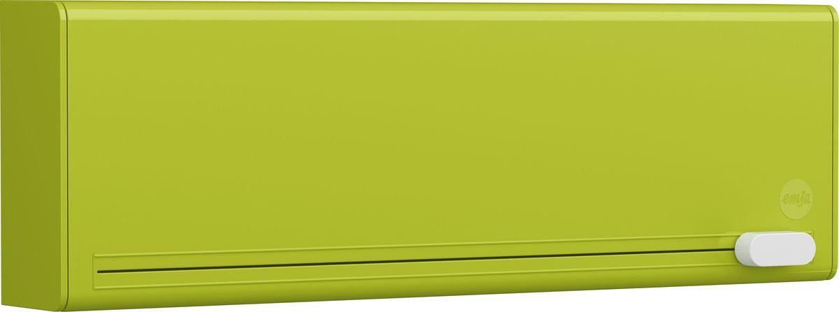 Диспенсер для пленки и фольги Emsa Smart, цвет: зеленый515233С помощью диспенсера Emsa Smart можно легко и компактно разместить пищевую пленку и фольгу прямо в кухонном шкафу. Благодаря умной системе лезвий отделить пищевую пленку или алюминиевую фольгу получится без рваных краев - скомканный край пленки остался в прошлом. Оригинальный и яркий дизайн станет отличным дополнением к вашему интерьеру.