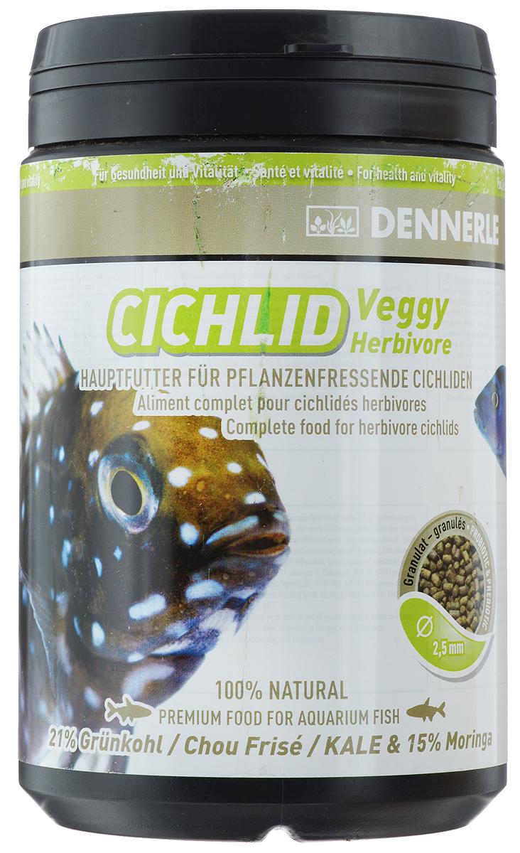 Корм Dennerle Cichlid Veggy, для растительноядных цихлид, 450 гDEN7517Корм Dennerle Cichlid Veggy разработан специально для цихлид, питающихся побегами растений, например, для трофеусов. Корм с высоким содержанием растительных ингредиентов. Благодаря содержанию богатых биологически активными веществами водорослей, таких как спирулина, хлорелла, нанохлоропсис и ламинария, а также красных известковых водорослей, богатых минералами и микроэлементами, рыбы получают питание аналогичное питанию в естественной среде обитания, насыщенное балластными веществами и клетчаткой. Состав: грюнколь (21%), пшеничный протеин, моринга масличная (15%), шпинат, дрожжевой экстракт, жир морских животных с омега-3 ПНЖК капуста белокочанная, спирулина платенсис, мелисса, чеснок, мокрица, экстракт зеленого губчатого моллюска, водоросли хлорелла, фенхель, анис, цветочная пыльца, порошок виноградных косточек, известковые красные водоросли, травяной экстракт, бета-глюканы. Аналитические компоненты: неочищенный протеин 33,7%, жир-сырец 8%, сырая клетчатка 5,6%,...