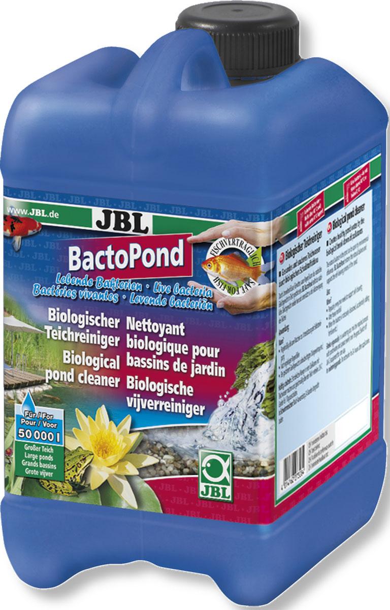 JBL BactoPond Средство для биологической очистки прудовой воды, 2,5 л на 50000 л водыJBL2732800JBL BactoPond - Средство для биологической очистки прудовой воды, 2,5 л на 50000 литров воды