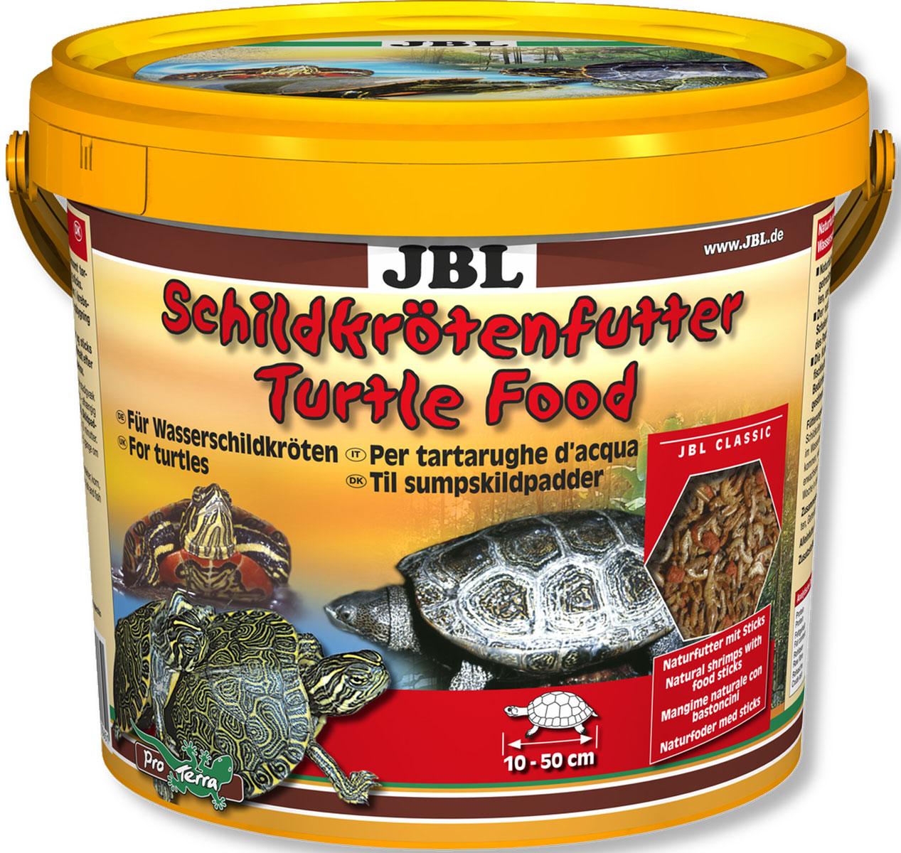 JBL Schildkroetenfutter Основной корм для черепах, 1000 мл (120 г)JBL7036400JBL Schildkroetenfutter - Основной корм для черепах, 1000 мл. (120 г.)