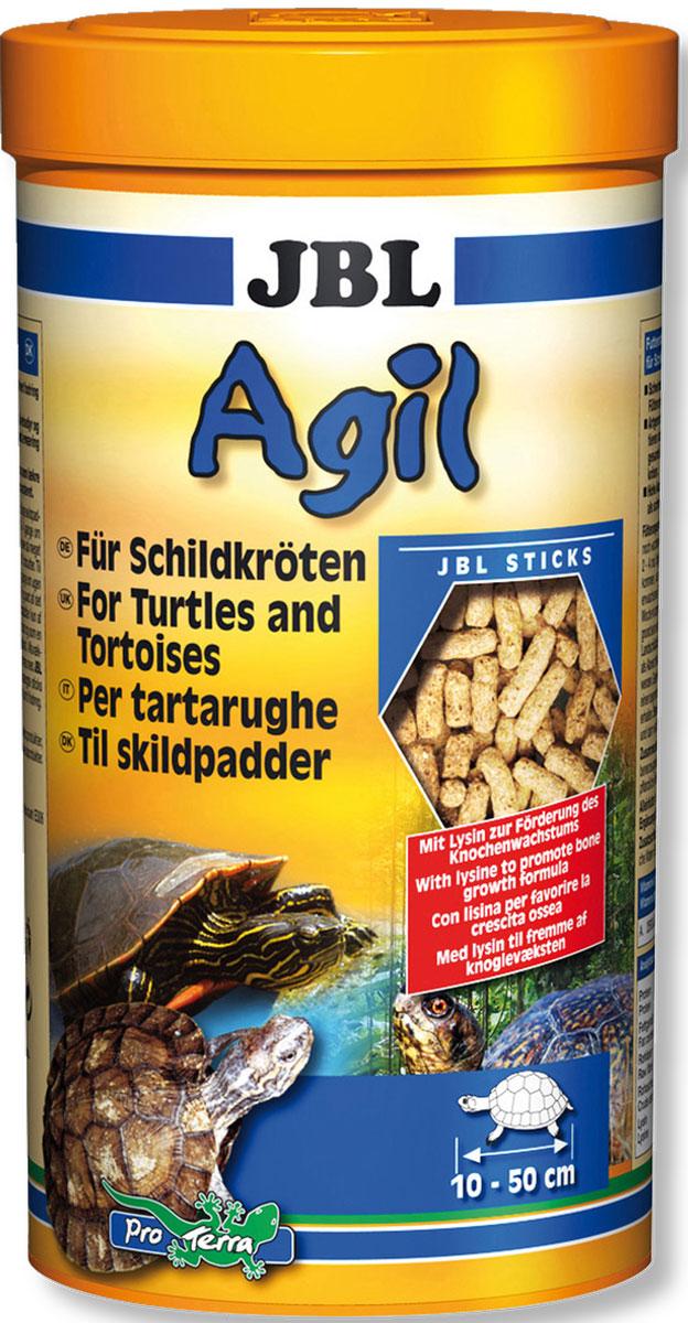 JBL Agil Питательный корм в форме палочек для черепах, 250 мл (100 г)JBL7034200JBL Agil - Питательный корм в форме палочек для черепах, 250 мл. (100 г.)