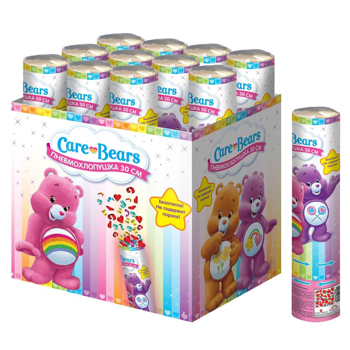 Росмэн Хлопушка Заботливые мишки 30 см31028Подарите ребятишкам радость, дополнив детский праздник хлопушкой Заботливые мишки. Когда раздастся звонкий хлопок и под веселый ребячий смех на всех посыплется разноцветное конфетти – восторг гостей торжества гарантирован! Хлопушка высотой 30 см, наполненная разноцветным конфетти из разноцветных сердечек, представляет собой металлическую тубу с бумажным и фольгированным наполнением. Изделие не содержит пороха, действует на основе сжатого воздуха, безопасно при использовании по назначению. Товар сертифицирован.