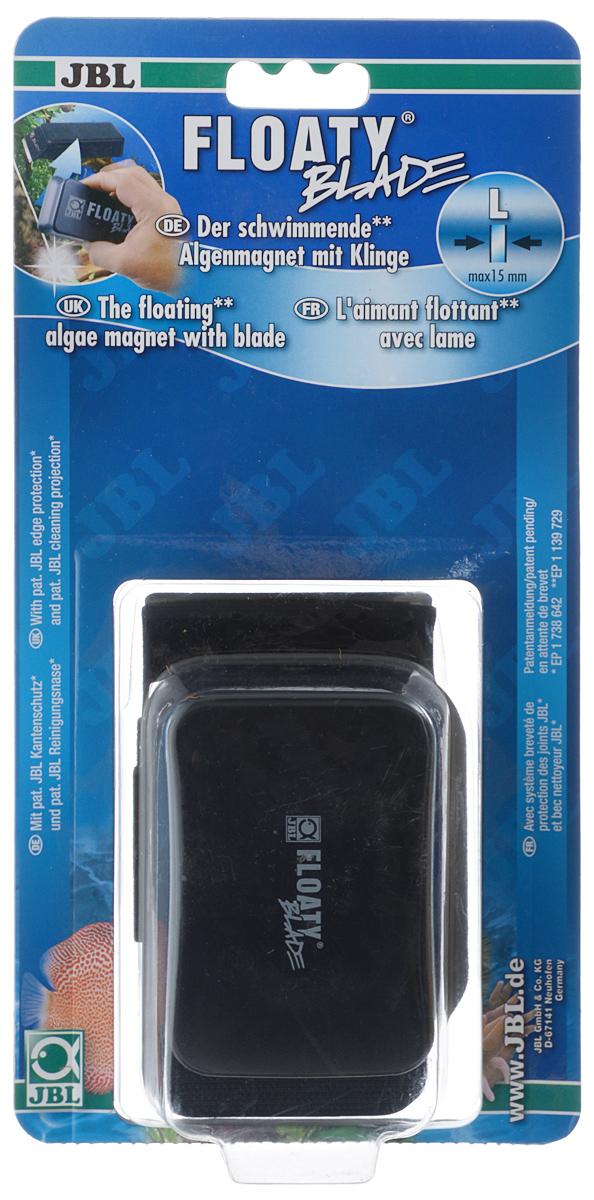 "Скребок для аквариума JBL ""Floaty L Blade"", магнитный, с лезвием JBL6135200"