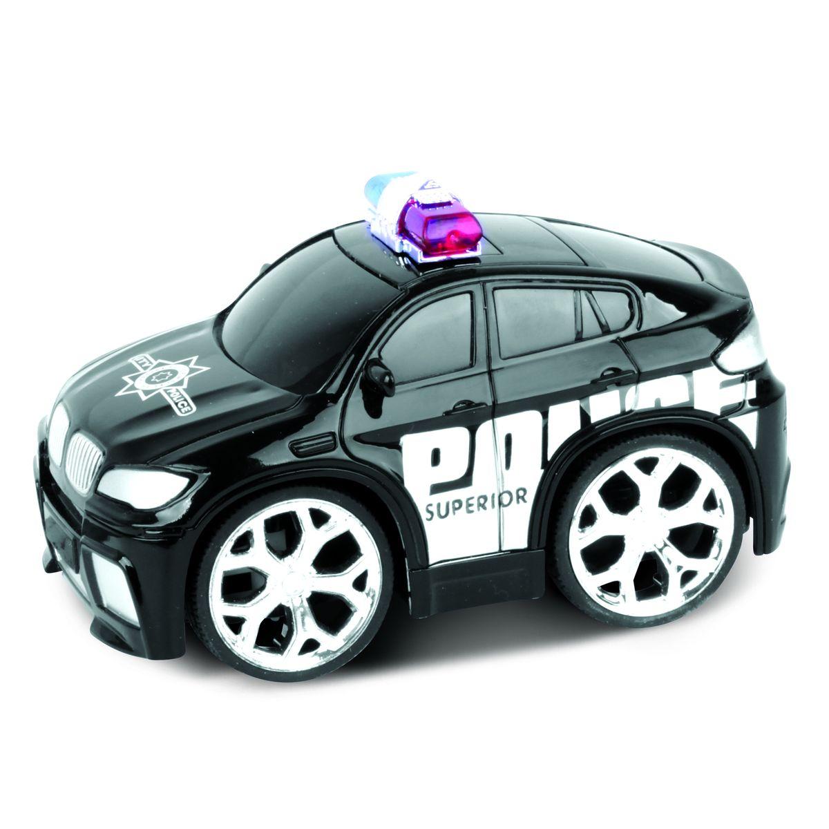 Blue Sea Машинка на радиоуправлении Police Car цвет черный5588-23Небольшие размеры Радиоуправление. Дальность действия не более 30 метров Требуется докупить элементы питания