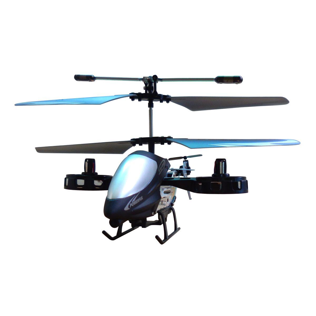 Blue Sea Вертолет на ИК управлении L607 с гироскопомL6074-х канальный вертолет с гироскопом на ИК управлении. Изюминка модели - в ее оригинальной конструкции: две боковых моторных гондолы добавляют заложенному в основу трехканальному прототипу возможность управления креном, т.е. движением боком влево или вправо. Благодаря этому Ваша миниатюрная модель способна летать как настоящий вертолет вверх и вниз, вперед и назад, влево и вправо и разворачиваться вокруг своей оси. Вы даже можете попробовать на нем простые фигуры высшего пилотажа.