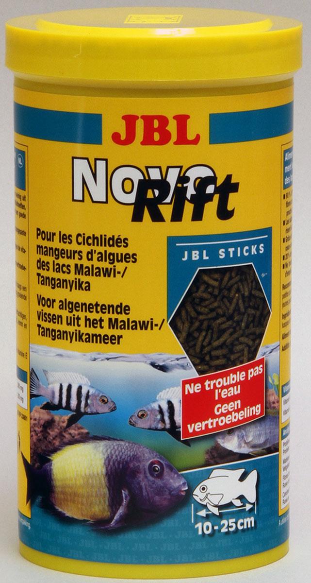 JBL NovoRift Корм для растительноядных восточноафриканских цихлид в форме палочек, 1000 мл (500 г)JBL3029500JBL NovoRift - Корм для растительноядных восточноафриканских цихлид в форме палочек, 1000 мл. (500 г.)