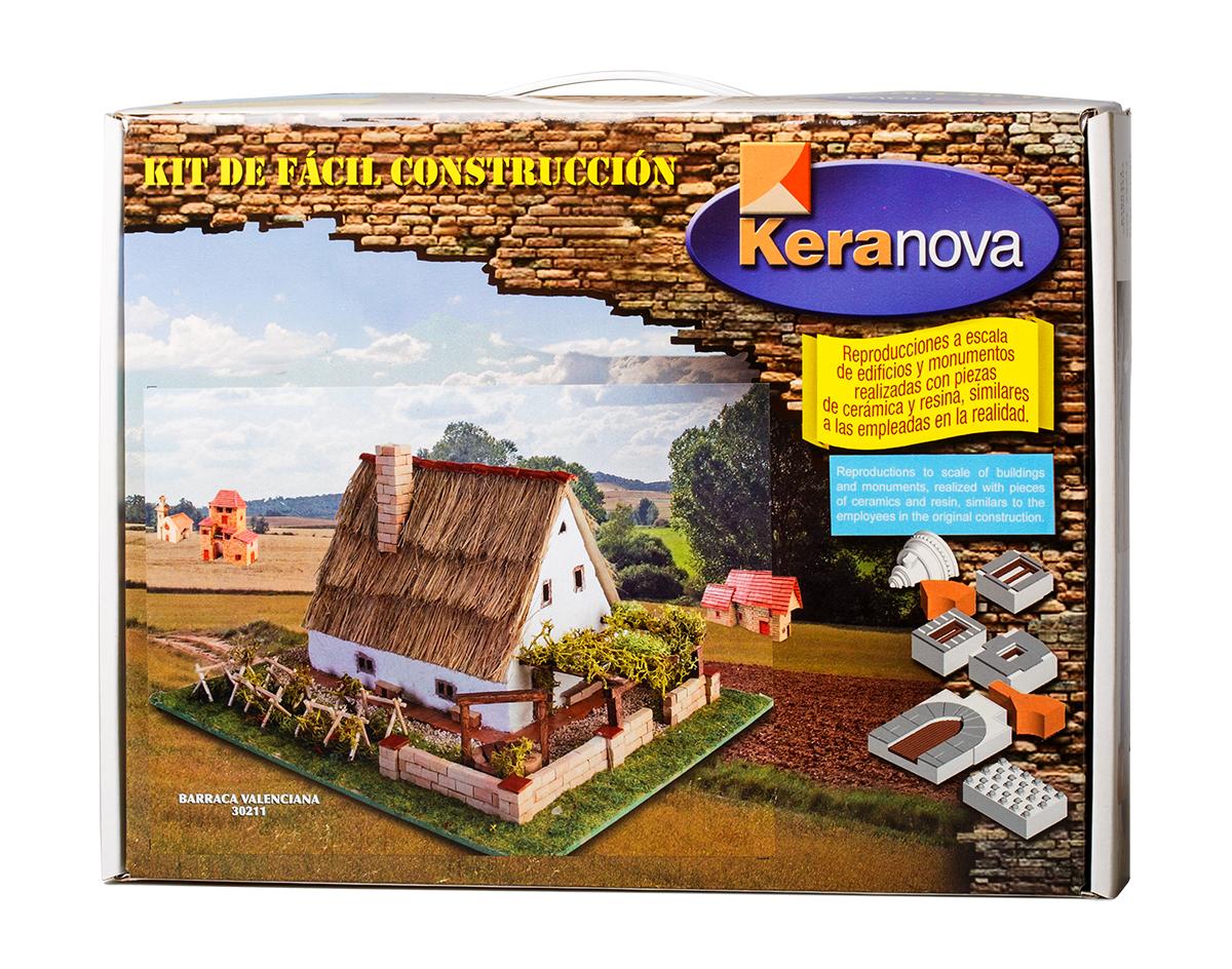 Keranova Конструктор Каталонский дом Валенсия30211Барак – прямоугольное строение с треугольной крышей, имеющей острый угол для лучшего слива проливных дождей, является типичным строением для таких регионов как Валенсия или Мурсия — земле орошаемых садов. Для их постройки используются такие легкодоступные в регионе материалы как ил, грязь, тростник или камыш. Так, например, стены дома сделаны из сырцового кирпича, а крыша покрыта камышом и соломой. В состав набора входят: - каркас модели из бумаги, - основа для миниатюры из фанеры, - набор кирпичиков и черепицы из глины разного размера и разной фактуры (8 температурных режимов обжига кирпичиков), - имитация грунта (песок), имитация растительности (исландский мох – материал устойчивый к естественному разрушению), - имитация украшений фасадов и окон (изготовлены из натуральной смолы вручную), - имитация деревянных переводов (деревянные брусочки), клей, схема сборки и инструкция. Размер упаковки: 300Х225 Вес изделия в упаковке: 1185гр. размер изделия: ш17 г21 в13,5 см количество...