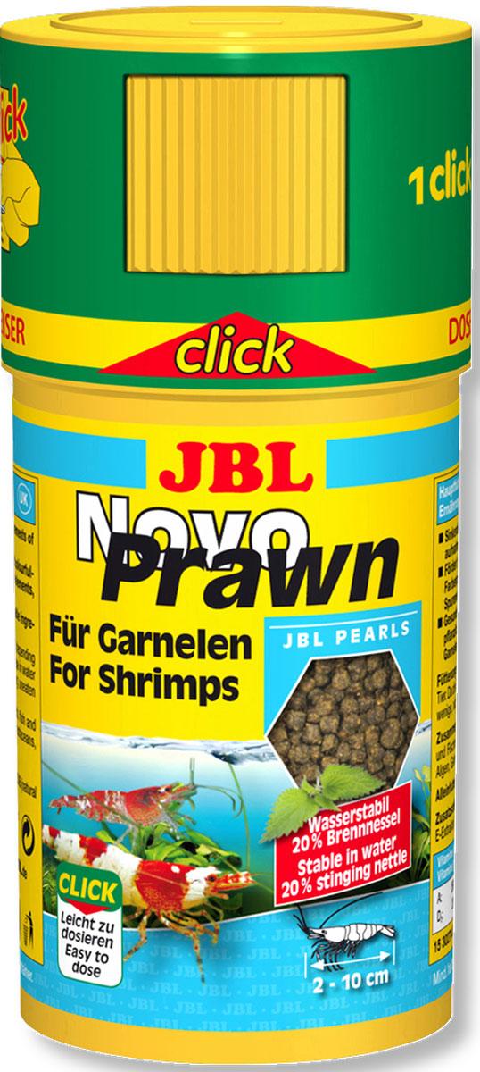 JBL NovoPrawn CLICK Корм для креветок, банка с дозатором, 100 мл (50 г)JBL3027400JBL NovoPrawn CLICK - Корм для креветок, банка с дозатором, 100 мл. (50 г.)