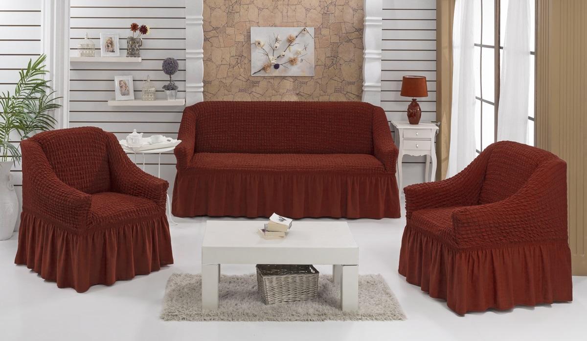Набор чехлов для дивана Karna Bulsan, 5 шт. 1717/CHAR0121717/CHAR012