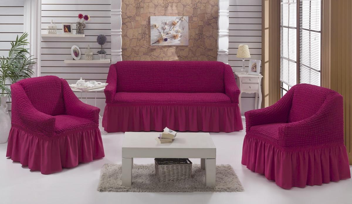 Набор чехлов для дивана Karna Bulsan, 5 шт. 1717/CHAR0131717/CHAR013