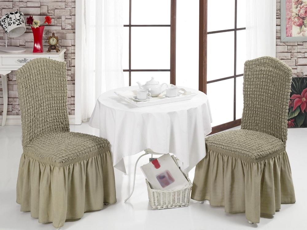 Набор чехлов для стульев Karna, 2 шт. 1906/CHAR0021906/CHAR002