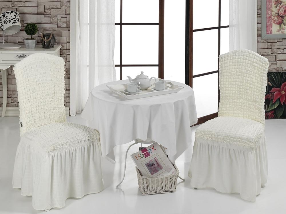 Набор чехлов для стульев Karna, 2 шт. 1906/CHAR0101906/CHAR010