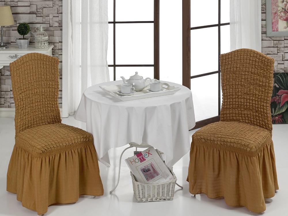 Набор чехлов для стульев Karna, 2 шт. 1906/CHAR0111906/CHAR011