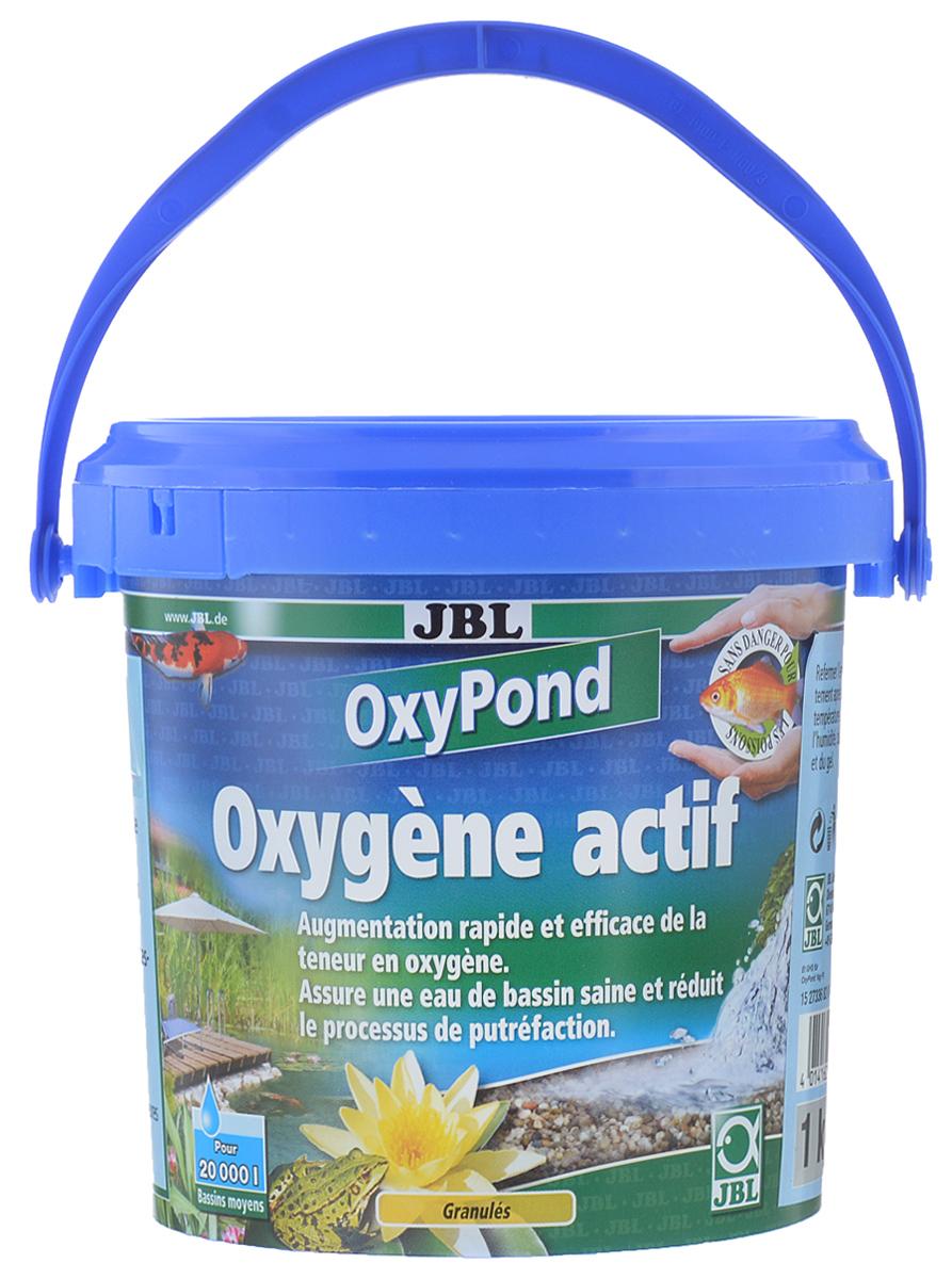 Кислород для садовых прудов JBL OxyPond, 1 кгJBL2733600Препарат с высокоактивным кислородом для садовых прудов JBL OxyPond устраняет острый дефицит кислорода и используется для профилактики. Активный кислород стимулирует и поддерживает биологическое самоочищение пруда. Препарат JBL OxyPond предотвращает резкое ухудшение качества воды. Кислород необходим живым организмам. При дыхании обитатели пруда и микроорганизмы в грунте постоянно потребляют кислород. Критические этапы годового цикла садового пруда - лето и зима. При сильном росте водорослей содержание кислорода в ночное время резко уменьшается, так как ночью у водорослей не происходит фотосинтез, и они потребляют кислород. Бактерии разлагают отмирающие водоросли на дне с последующим потреблением кислорода. Зимой, когда рыбы держатся у дна, при сильном скоплении ила содержание кислорода снижается. Доступ кислорода в водоём в морозы затрудняется из-за льда. В перечисленных случаях рыбы могут погибнуть. Рекомендуется регулярно проверять содержание кислорода. ...
