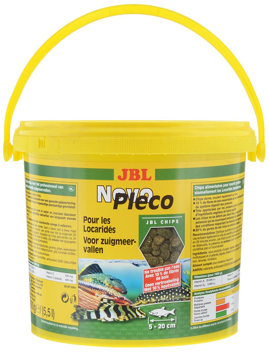 Корм JBL NovoPleco, для кольчужных сомов, 2,7 кгJBL3030900JBL NovoPleco представляет собой корм в форме чипсов, изготовленных по специальной технологии, состав которых и консистенция специально подобраны для кормления кольчужных сомов и других донных рыб, питающихся растениями. Корм обеспечивает правильное питание. Быстро погружающиеся в воду чипсы сразу ложатся на дно аквариума, в зону досягаемости для его донных обитателей. Стабильность JBL NovoPleco в воде способствует тому, что медленно питающиеся обитатели природной зоны аквариума получают достаточно времени для поглощения корма, а вода в аквариуме не испытывает дополнительной нагрузки. Корм предназначен для рыб длиною 5 - 20 см. Состав: растительные побочные продукты 46.40%, овощи 27.40%, злаки 7.50%, моллюски и ракообразные 6.00%, водоросли 5.00%, рыба и рыбные побочные продукты 3.50%, дрожжи 2.50%. Товар сертифицирован.