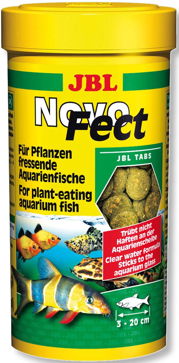 JBL NovoFect Корм в форме таблеток для растительноядных рыб, 100 мл (160 шт)JBL3024700JBL NovoFect - Корм в форме таблеток для растительноядных рыб, 100 мл. (160 шт.)
