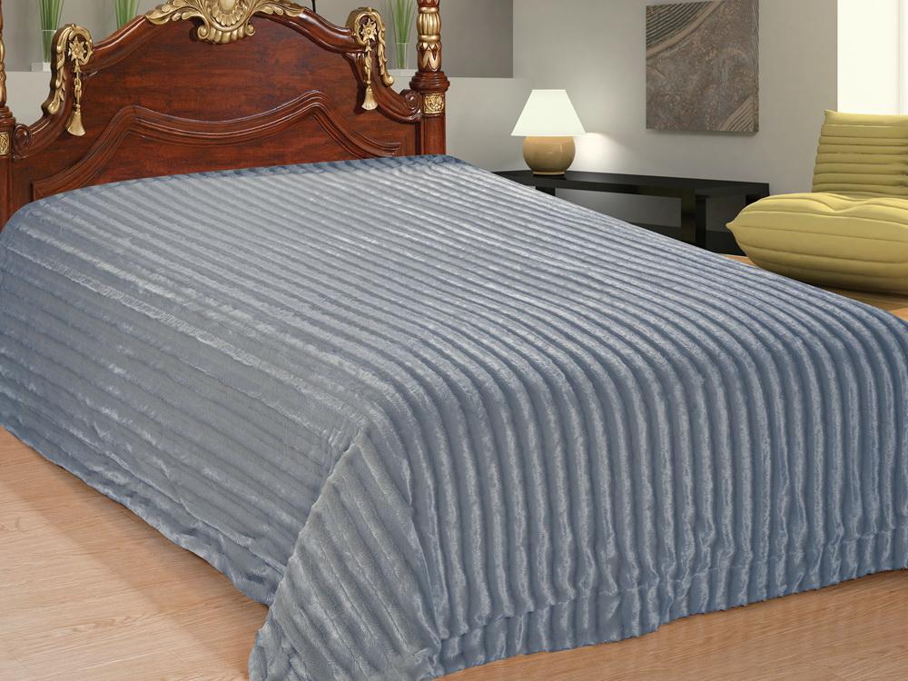 Покрывало Cleo Параллель, цвет: серый, 220 x 240 см210/79-TZКрасивые, яркие, легкие и в меру объемные покрывала - они становятся настоящим украшением, завершающим штрихом интерьера, который преображает помещение, делая его уютным и комфортным. Состав этой коллекции - искусственный мех (акрил). Покрывало универсально в использовании. Такое покрывало прослужит много лет, радуя вас и ваших близких изначальной яркостью своих красок.