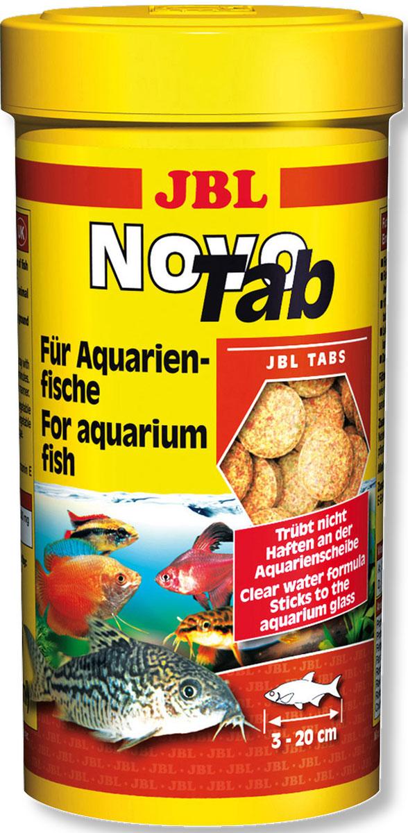 JBL NovoTab Корм в форме таблеток для всех видов аквариумных рыб, 100 мл (160 шт)JBL3023000JBL NovoTab - Корм в форме таблеток для всех видов аквариумных рыб, 100 мл. (160 шт.)