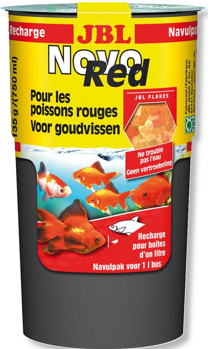 JBL NovoRed refill Основной корм в форме хлопьев для золотых рыб в специальной упаковке 130 г (750 мл)JBL3022180JBL NovoRed refill - Основной корм в форме хлопьев для золотых рыб в специальной упаковке 130 г. (750 мл.)