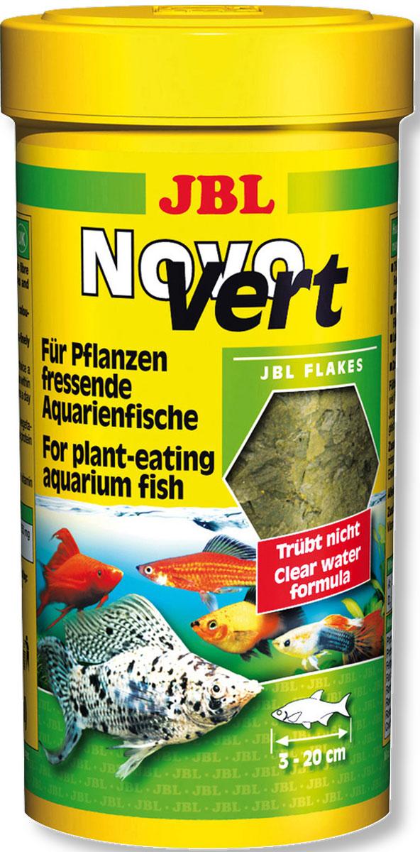 JBL NovoVert Корм со спирулиной и планктоном, 100 мл (16 г)JBL3019000JBL NovoVert - Корм со спирулиной и планктоном, 100 мл. (16 г.)