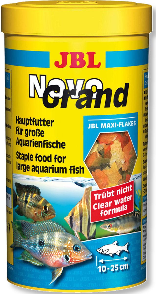 JBL NovoGrand Основной корм в форме крупных хлопьев для крупных видов рыб, 1000 мл (180 г)JBL3018000JBL NovoGrand - Основной корм в форме крупных хлопьев для крупных видов рыб, 1000 мл. (180 г.)