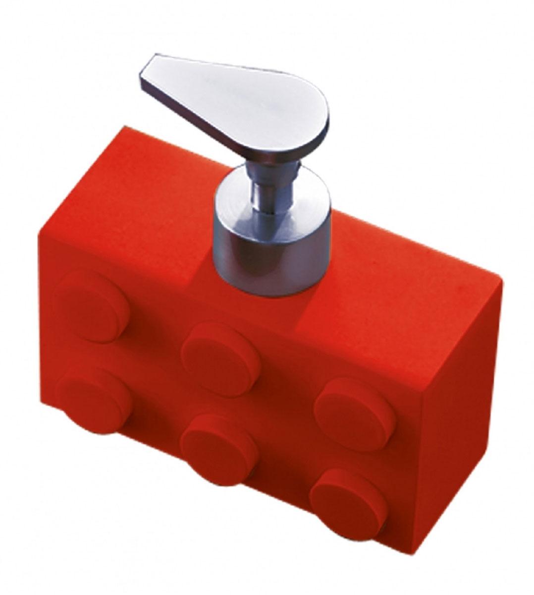 Дозатор для жидкого мыла Ridder Bob, цвет: красный, 280 мл22210506Дозатор для жидкого мыла Ridder Bob, изготовленный из экологичной полирезины, отлично подойдет для вашей ванной комнаты. Такой аксессуар очень удобен в использовании, достаточно лишь перелить жидкое мыло в дозатор, а когда необходимо использование мыла, легким нажатием выдавить нужное количество. Дозатор для жидкого мыла Ridder Bob создаст особую атмосферу уюта и максимального комфорта в ванной. Объем дозатора: 280 мл.