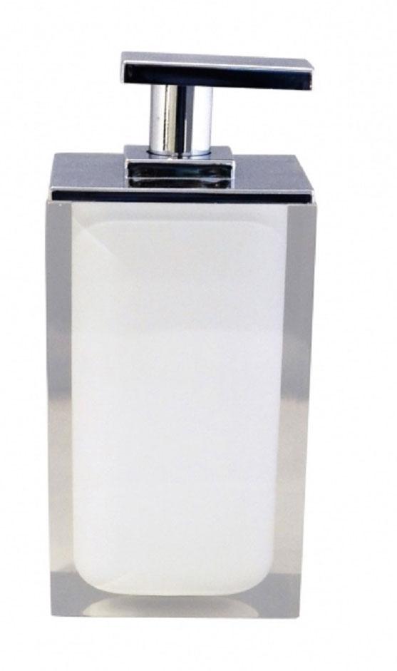 Дозатор для жидкого мыла Ridder Colours, цвет: белый, 300 мл22280501Дозатор для жидкого мыла Ridder Colours, изготовленный из экологичной полирезины, отлично подойдет для вашей ванной комнаты. Такой аксессуар очень удобен в использовании, достаточно лишь перелить жидкое мыло в дозатор, а когда необходимо использование мыла, легким нажатием выдавить нужное количество. Дозатор для жидкого мыла Ridder Colours создаст особую атмосферу уюта и максимального комфорта в ванной. Объем дозатора: 300 мл.