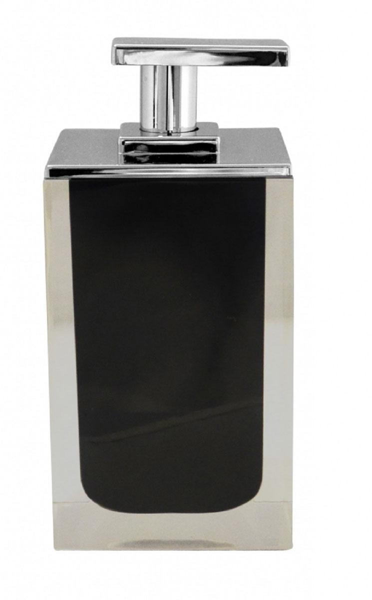 Дозатор для жидкого мыла Ridder Colours, цвет: черный, 300 мл22280510Дозатор для жидкого мыла Ridder Colours, изготовленный из экологичной полирезины, отлично подойдет для вашей ванной комнаты. Такой аксессуар очень удобен в использовании, достаточно лишь перелить жидкое мыло в дозатор, а когда необходимо использование мыла, легким нажатием выдавить нужное количество. Дозатор для жидкого мыла Ridder Colours создаст особую атмосферу уюта и максимального комфорта в ванной. Объем дозатора: 300 мл.