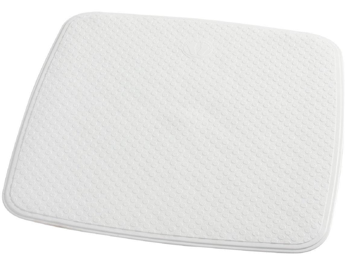 Коврик для ванной Ridder Capri, противоскользящий, цвет: белый, 54 х 54 см66281Коврик для ванной Ridder Capri, изготовленный из каучука с защитой от плесени и грибка, создает комфортное антискользящее покрытие в ванне. Изделие удобно в использовании и легко моется теплой водой.