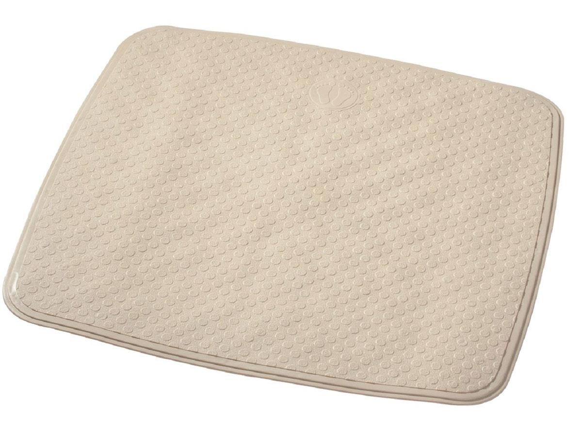 Коврик для ванной Ridder Capri, противоскользящий, цвет: бежевый, 54 х 54 см66289Производится из каучука с защитой от плесени и грибка. Бозопасность изделия соответствует стандартам LGA (Германия)