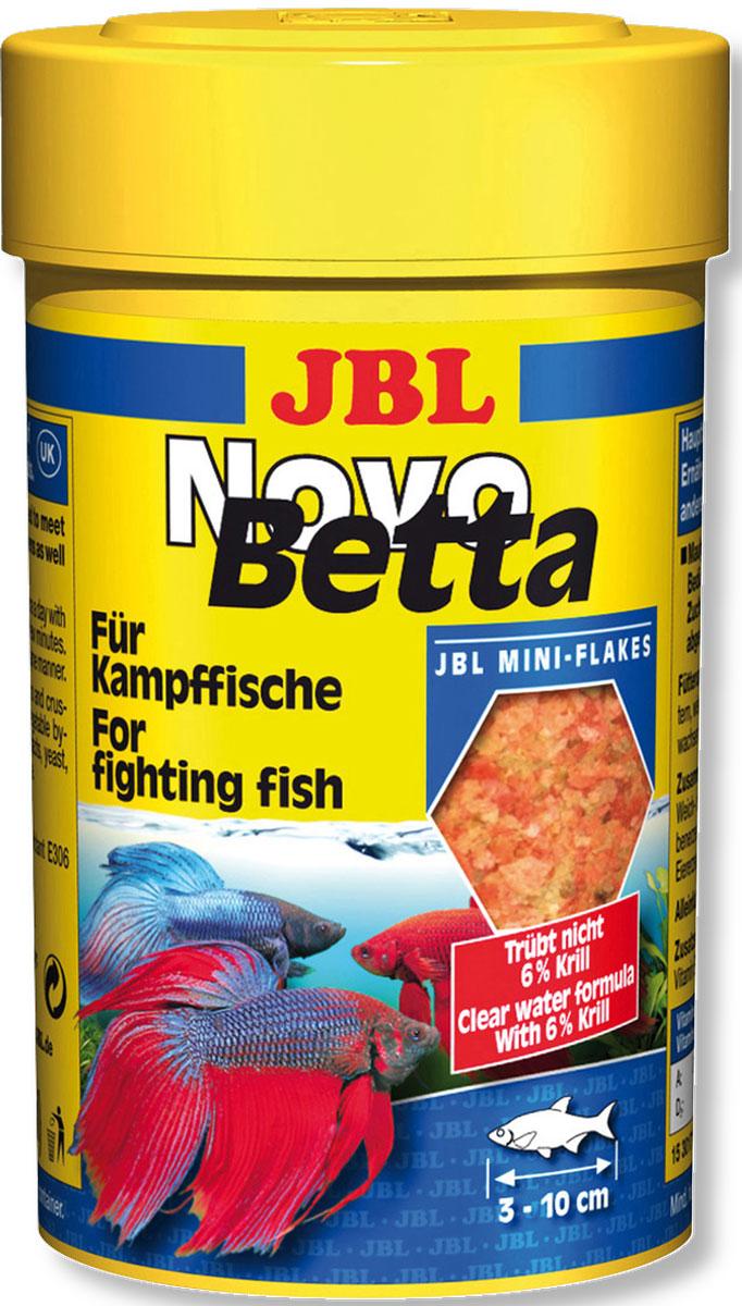 JBL NovoBetta Основной корм для петушков, 100 млJBL3017100JBL NovoBetta - Основной корм для петушков, 100 мл.