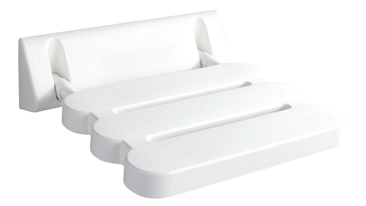 Сиденье в ванную Ridder, откидное, цвет: белый. А00200101А00200101Высококачественное немецкое сиденье для ванны разработано и запатентовано компанией Ridder. Данное изделие имеет откидной механизм. Посадочная часть состоит из рифленых реек, не впитывающих влагу. Длина сидения - 310 мм. Глубина сидения - 230 мм. Максимальная нагрузка - 100 кг. Состав: каркас - алюминий, сиденье - пластик. В комплект входят саморезы+дюбели и инструкция.