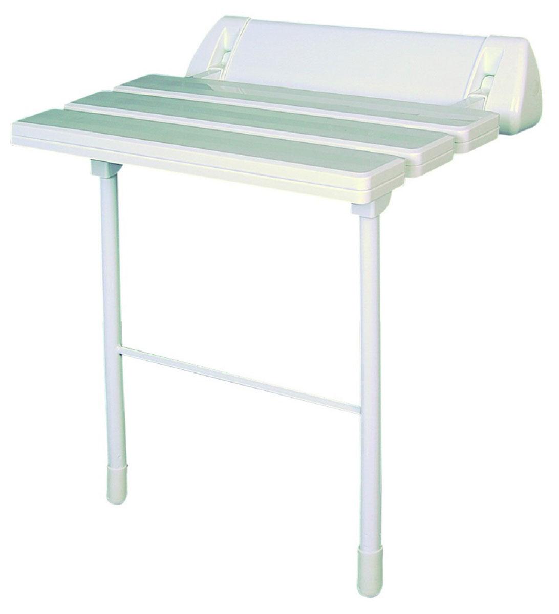 Сиденье в ванную Ridder, цвет: белый. А0020301А0020301Высококачественное немецкое сиденье для ванны разработано и запатентовано компанией Ridder. Данное изделие имеет откидной механизм. Посадочная часть состоит из рифленых реек, не впитывающих влагу. Ножки регулируются по высоте - 460 - 485 мм. Длина сидения - 510 мм. Глубина сидения - 230 мм. Максимальная нагрузка - 250 кг. Состав: каркас - алюминий, сиденье - пластик. В комплект входят саморезы+дюбели и инструкция.