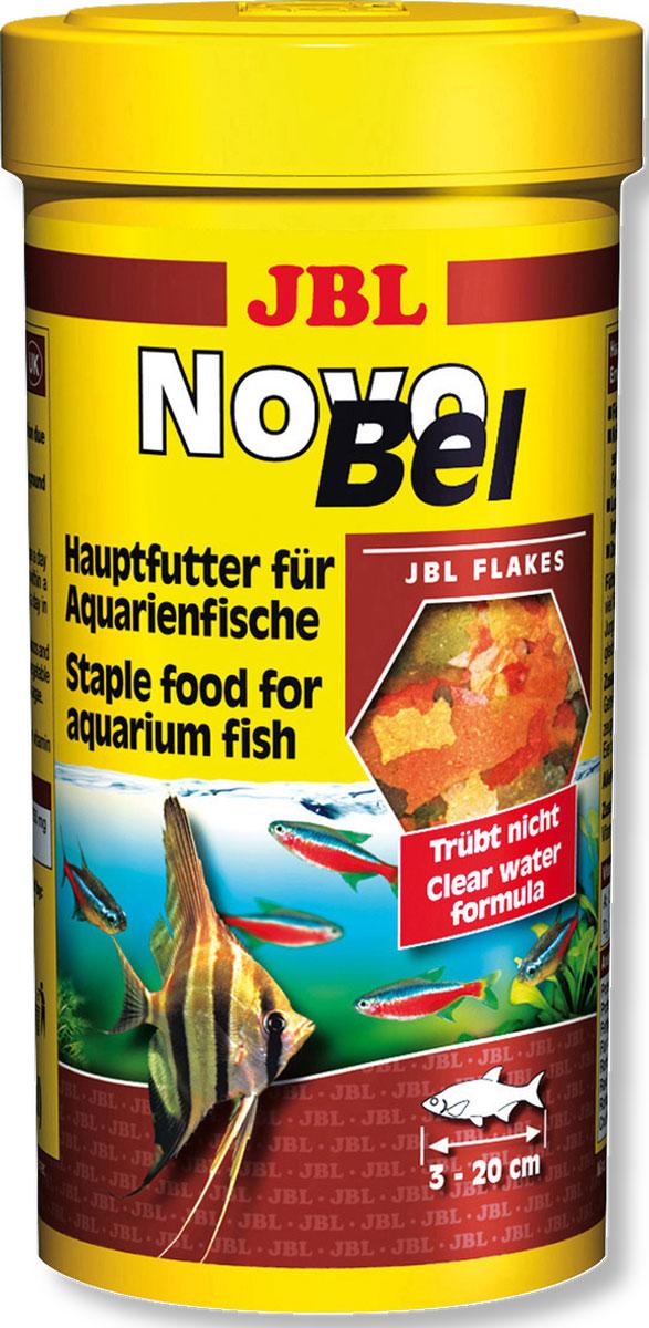 JBL NovoBel Основной корм в форме хлопьев для всех аквариумных рыб, 250 млJBL3013059JBL NovoBel - Основной корм в форме хлопьев для всех аквариумных рыб, 250 мл.