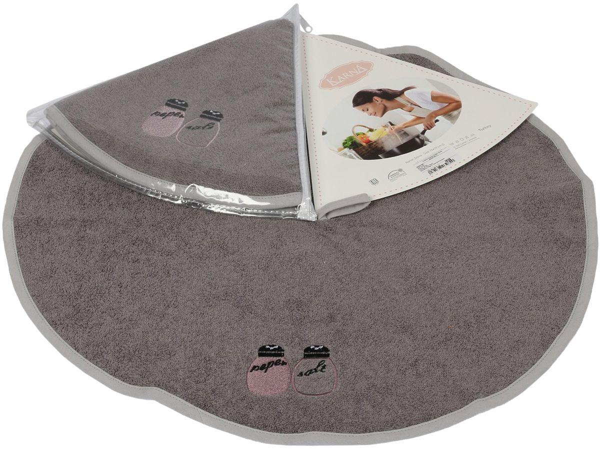 Салфетка кухонная Karna Zelina, диаметр 50 см. 504/CHAR002504/CHAR002