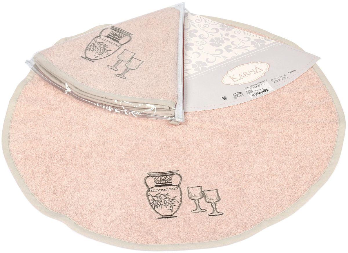 Салфетка кухонная Karna Bella, диаметр 50 см. 505/CHAR005505/CHAR005