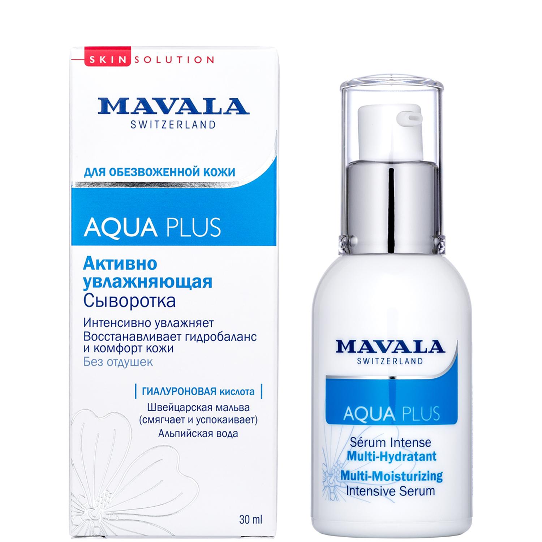 Mavala Активно Увлажняющая Сыворотка Aqua Plus Multi-Moisturizing Intensive Serum 30 мл07-300Активно Увлажняющая Сыворотка от швейцарского бренда Mavala входит в линейку средств по уходу за обезвоженной кожей — Aquaplus. Активный компонент — 3-х молекулярная гиалуроновая кислота. Крупные молекулы останавливают потерю влаги, воздействуя на верхний слой кожи. Средние и мелкие молекулы наполняют клетки влагой изнутри. Средство действует моментально, устраняя чувство стянутости, сухости и жжения. Сыворотка восстанавливает гидробаланс кожи. Она проникает вглубь тканей и способствует активации естественных процессов защиты и восстановления клеток. Сыворотка обладает деликатной текстурой и мгновенно впитывается. Создана на основе экстракта цветов Мальвы и Минеральной воды из источника в швейцарских Альпах. Сыворотка подходит для всех типов кожи и сочетается с любым средством Mavala по уходу за лицом линии Skinsolution. Формула разработана в научно-исследовательской лаборатории Mavala в Швейцарии. В состав средства входят только экологически чистые и безопасные компоненты. Без...