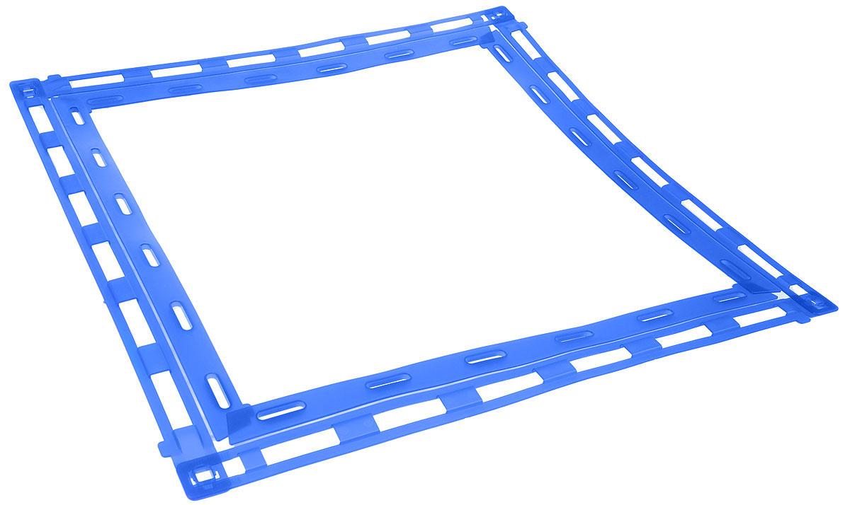 Рамка-держатель для пеленок MPS LEO, 60 х 60 смS09010200Рамка MPS LEO крепко держит пеленку расправленной, не давая ей свернуться при использовании питомцем. Изделие изготовлено из высококачественного крепкого пластика. Пеленка не входит в комплект.