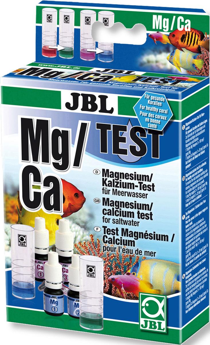 Тест JBL Magnesium/ Calcium Test-Set Mg/Ca для точного измерения содержания кальция и магния во всех аквариумах с морской водойJBL2540200JBL Magnesium/ Calcium Test-Set Mg/Ca - Тест для точного измерения содержания кальция и магния во всех аквариумах с морской водой