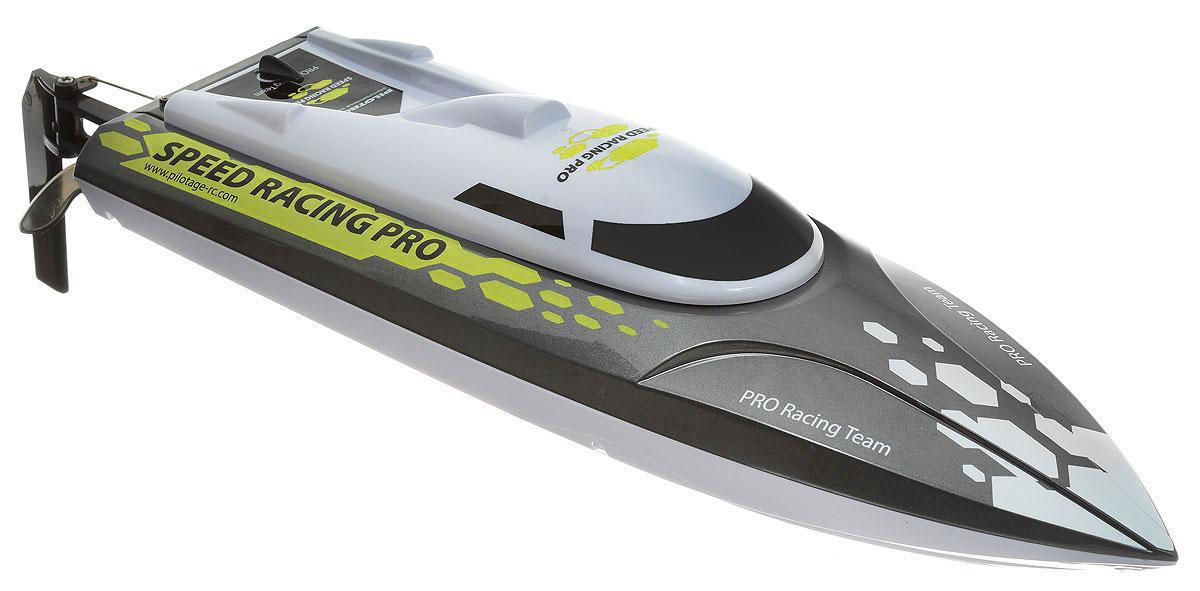 Pilotage Катер на радиоуправлении Speed Racing Pro RTR цвет серый металлик желтый
