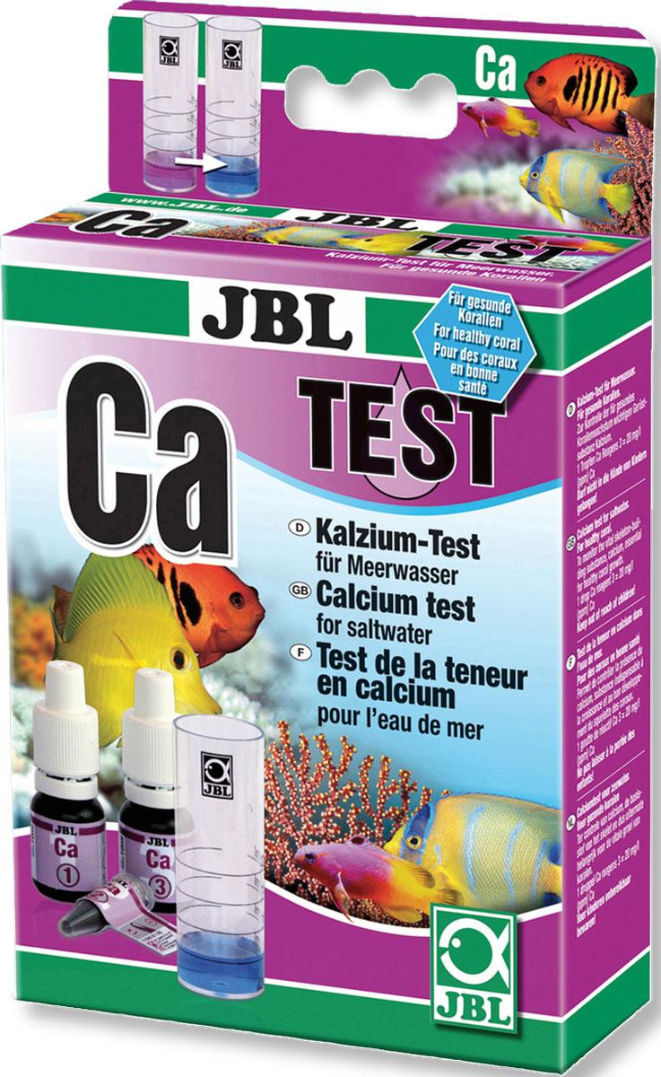 Тест JBL Calcium Test-Set Ca для точного измерения содержания кальция во всех аквариумах с морской водойJBL2540000JBL Calcium Test-Set Ca - Тест для точного измерения содержания кальция во всех аквариумах с морской водой