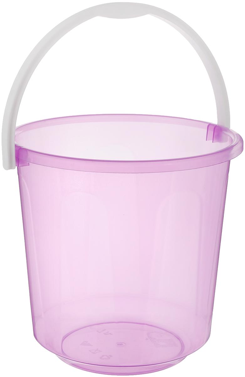 Ведро Альтернатива Хозяюшка, цвет: сиреневый, 7 лМ1205_сиреневыйВедро Альтернатива Хозяюшка изготовлено из высококачественного пластика. Оно легче железного и не подвержено коррозии. Для удобства использования ведро оснащено пластиковой ручкой. Ведро предназначено для бытовых нужд. Диаметр ведра: 24 см. Высота стенок: 23,5 см.