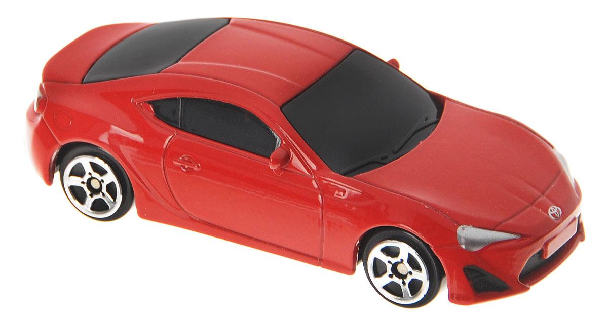 Рыжий Кот Модель автомобиля Toyota 86 масштаб 1:64И-1187_красныйМодель автомобиля Toyota 86 - миниатюрная копия настоящего автомобиля в масштабе 1:64. Стильная модель автомобиля привлечет к себе внимание не только детей, но и взрослых. Масштабная модель в точности воспроизводит оригинальное авто, включая мельчайшие детали интерьера и экстерьера. Повышенную прочность модели обеспечивает металлический корпус. В оформлении использованы пластиковые элементы, колеса обладают свободным ходом. Такая модель станет отличным подарком не только любителю автомобилей, но и человеку, ценящему оригинальность и изысканность, а качество исполнения представит такой подарок в самом лучшем свете.
